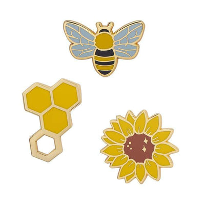Erstwilder Happy Honeycomb Enamel Pin EP0003-6065