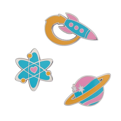 Erstwilder Spaced Out Enamel Pin Set EPX0002-0100