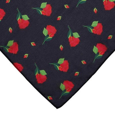 Budding Romance Rose Large Neck Scarf
