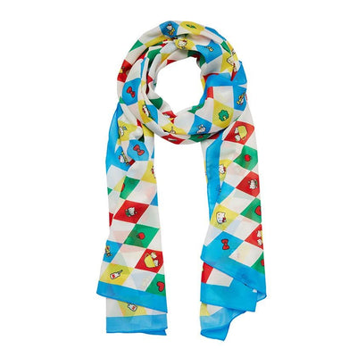 Erstwilder Hello Kitty Argyle Large Neck Scarf SC1052-3001