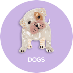 Shop all Erstwilder Dog Brooch, Earring and Necklace Designs