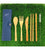 IOCO re-use Bamboo Cutlery Set
