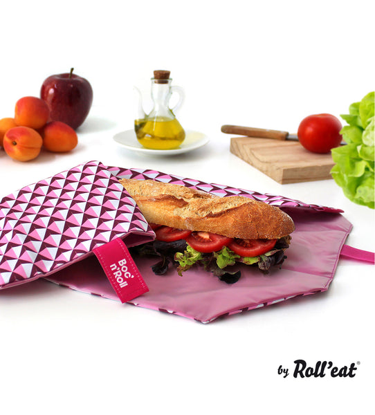 Boc'N'Roll Tile Sandwich Wrap - Pink