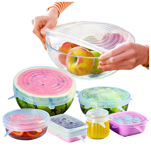 IOco RE-USEable Fresh Food Covers - Set of 6