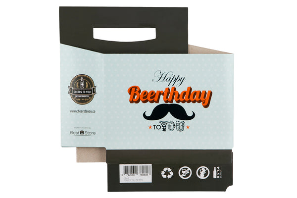Cheers To You - Beerthday Beer Caddy & Gift Card