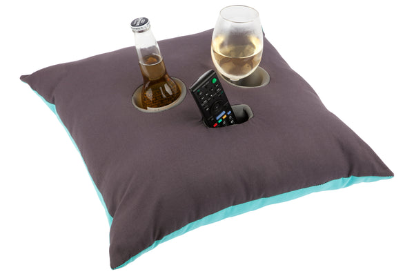 Bob the Boozer™ Cushion - Wine Time Quote