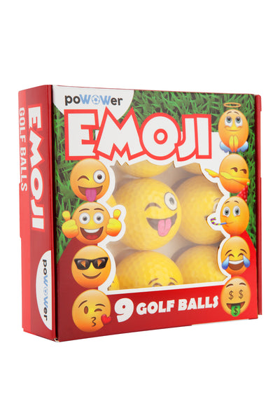 Emoji Performance Golf Balls
