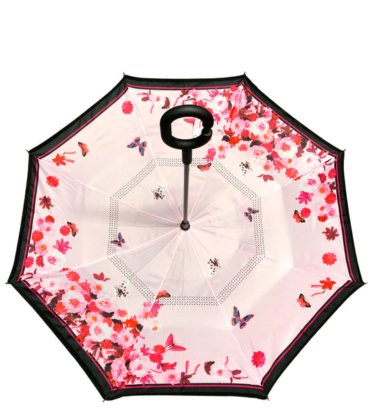 ioco Reverse Umbrella in Butterflies