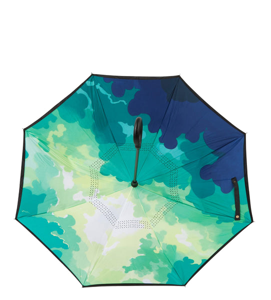 ioco Reverse Umbrella in Cherry Blossom