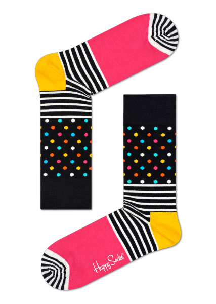 Happy Socks - Crazy Eighties Black