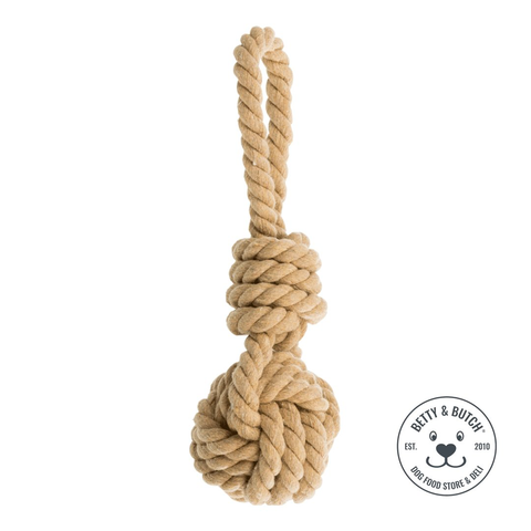 Knot Ball With Rope Toy