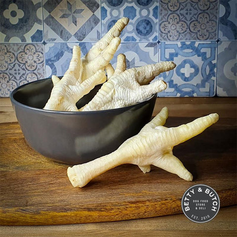 Puffed Chicken Feet For Dogs