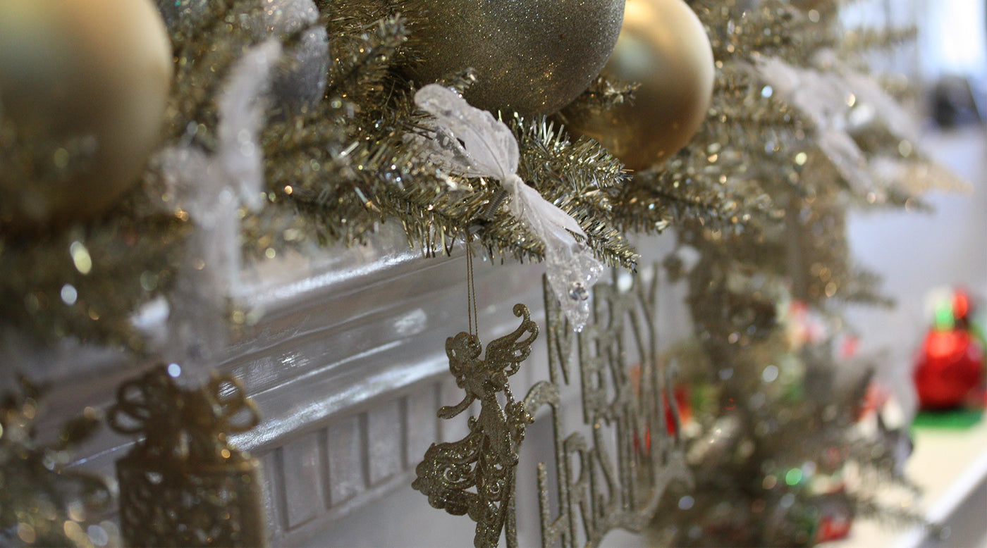 How To Make A Christmas Garland For Your Mantel Or Table My Christmas