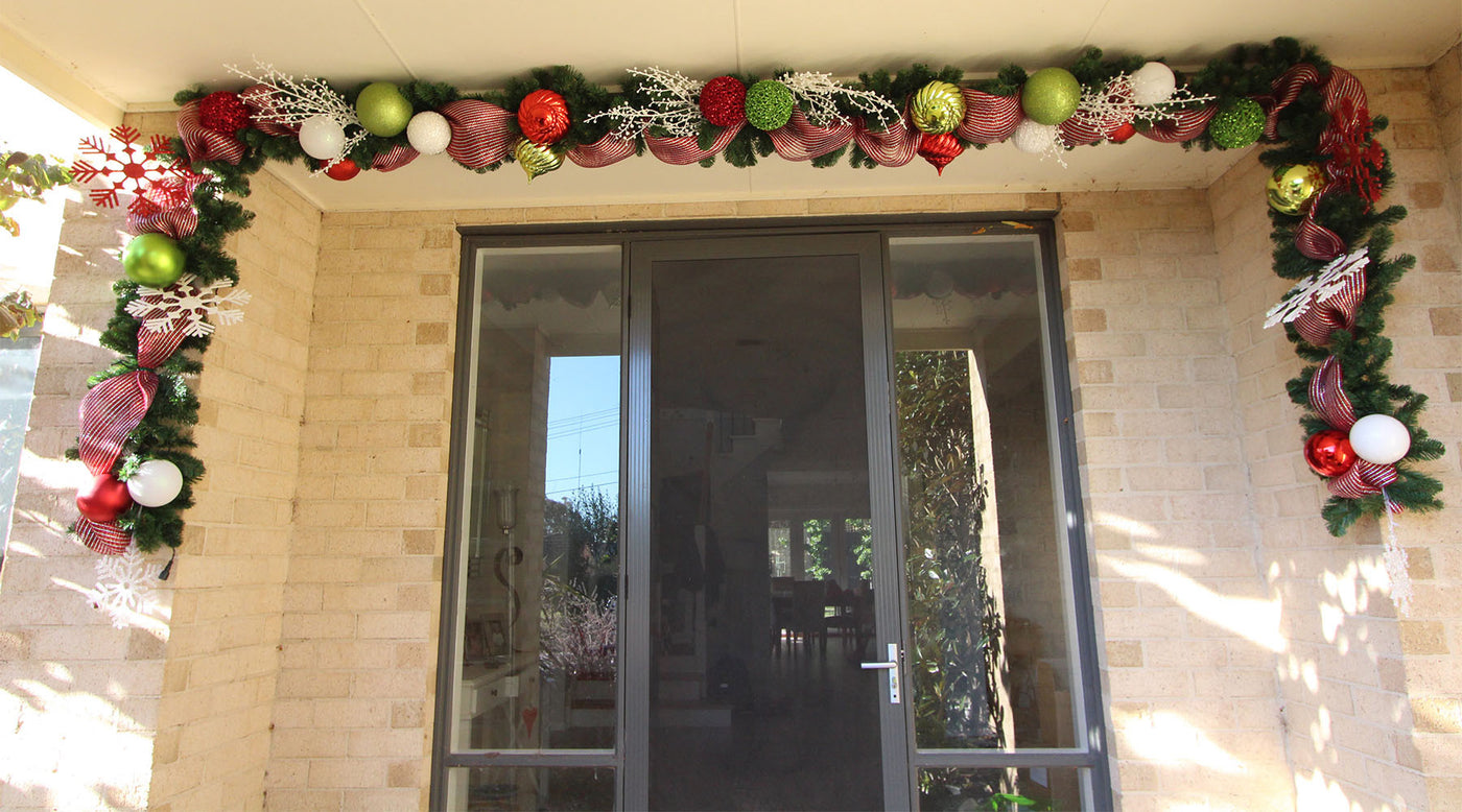 Christmas Garland For Your Front Door My Christmas