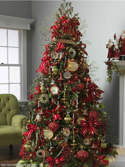i love the voluptuous use of decorations in the their trees and each year cant wait to receive our raz decorations so we can create something like these - Raz Christmas Decorations 2012