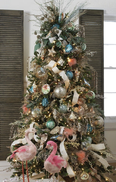 Deck the Shores Christmas tree theme from Raz Imports