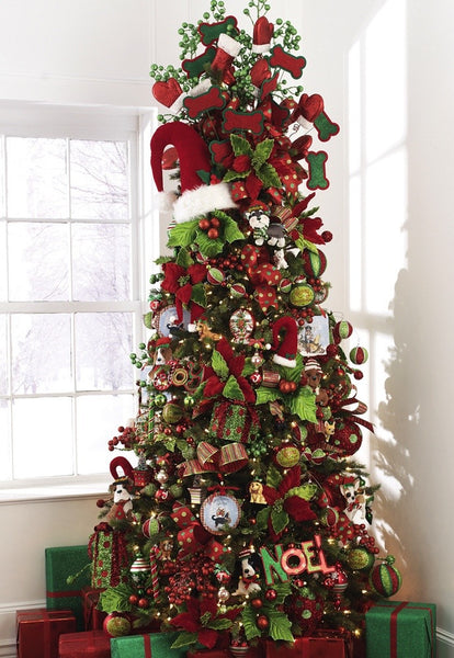 Everything Merry Christmas Tree theme from Raz Imports