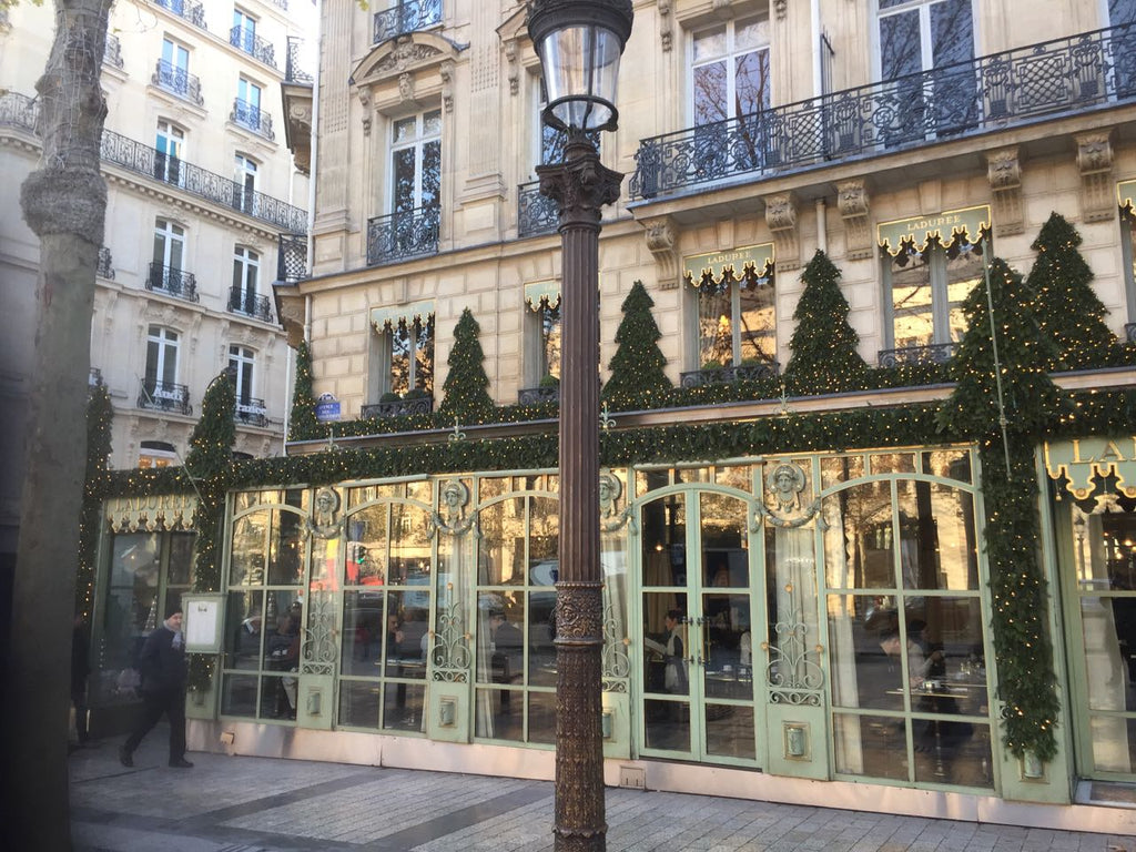 Beautiful Paris at Christmas. An easy runner-up to London's magic over winter