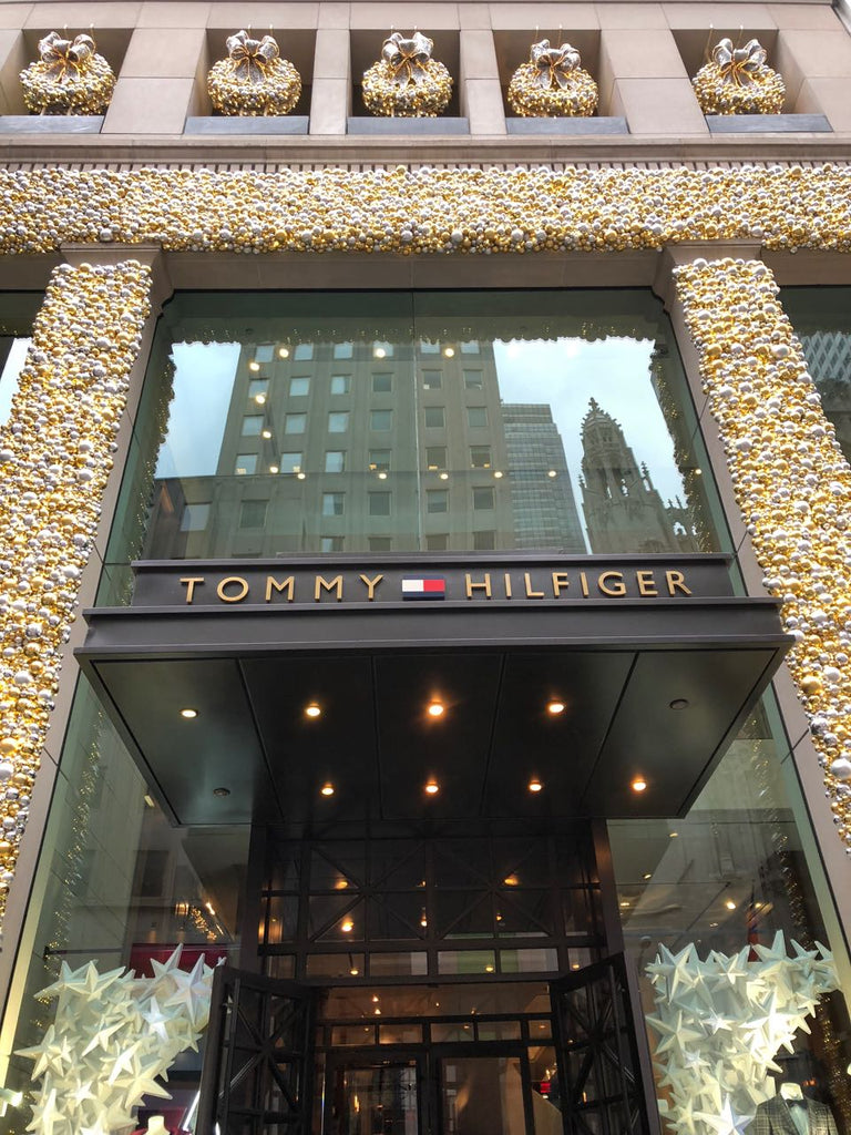 The Tommy Hilfiger Store in New York