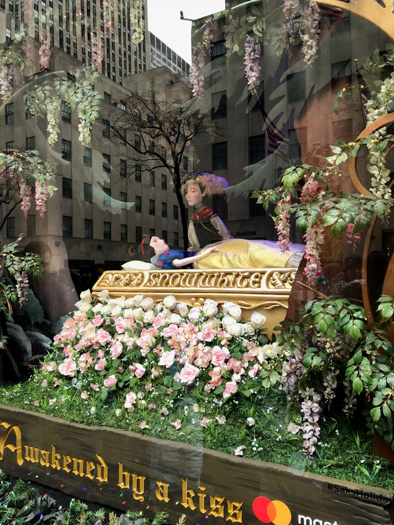 Saks 5th Avenue is a beautiful experience for shopping and meandering about