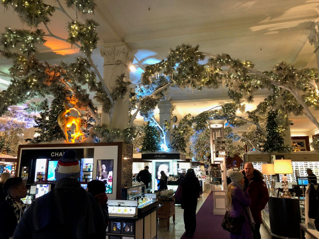 Christmas in New York: Inside the stores