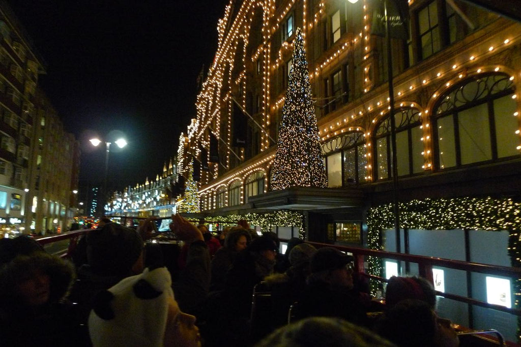 London is a sight to see over Christmas, and everything is geographically close, which is great for kids