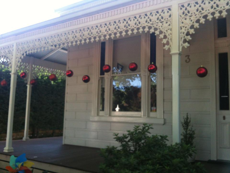 Decorating the home for Christmas