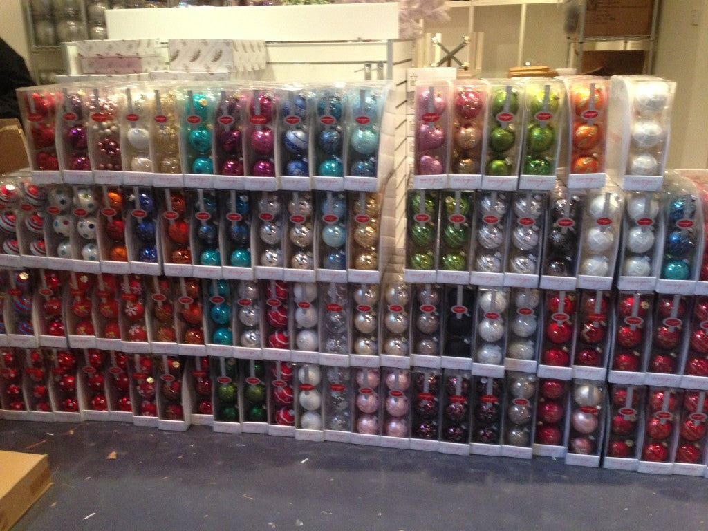inge glass christmas ornaments