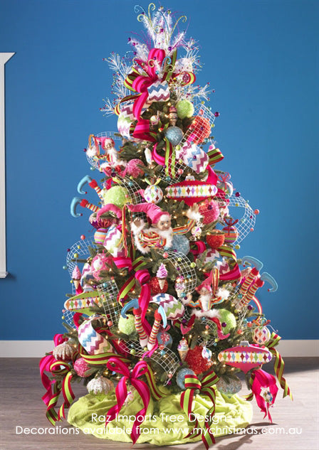 Candy Sprinkles Christmas Tree by Raz Imports