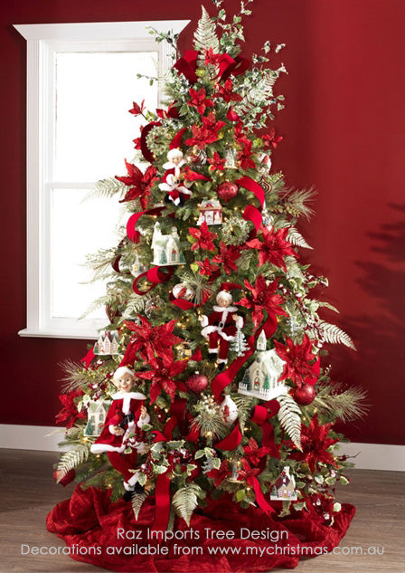 'Home for the Holidays' Christmas tree by Raz Imports