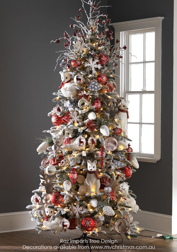 Raz Imports Christmas Tree theme for 2015, Graphic Woodlands