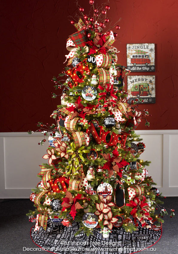 Raz Imports Christmas Tree theme for 2015, Jingle All The Way
