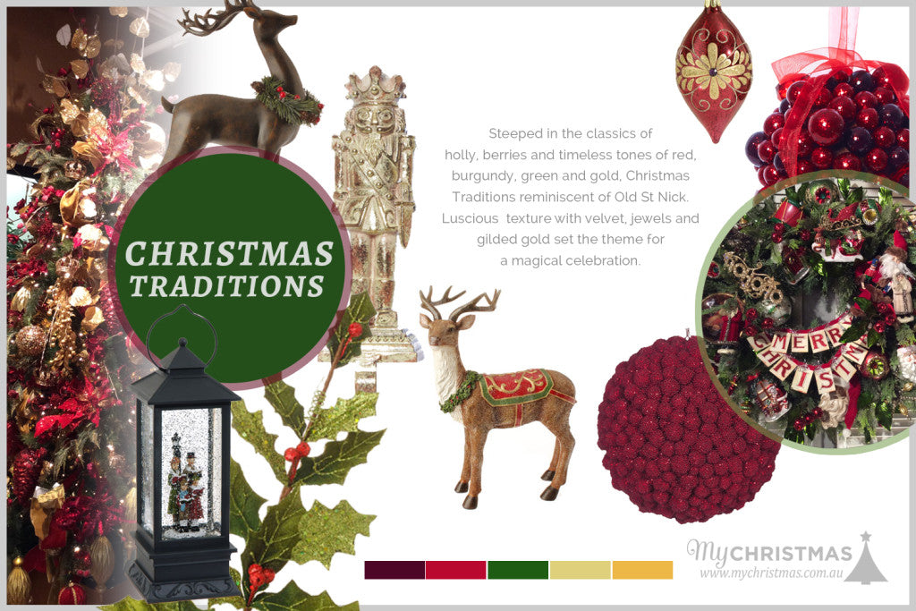 Christmas trend board for 2015 - Christmas Traditions
