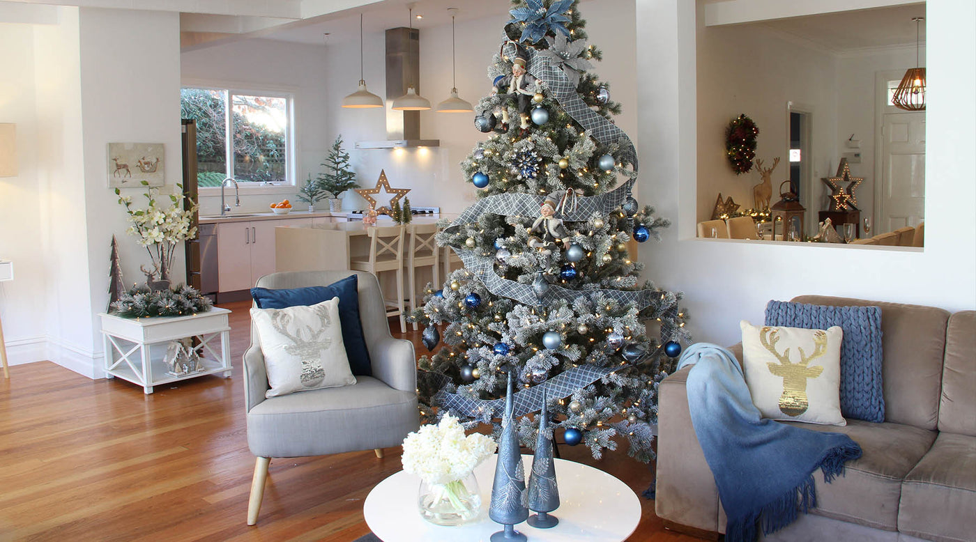 christmas decor - Pictures Of Pretty Decorated Christmas Trees