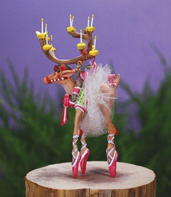 Mini Dancer Ornament