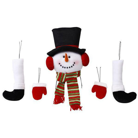 Wreath Kit, Snowman