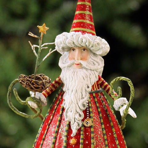 Medium Santa Ornament