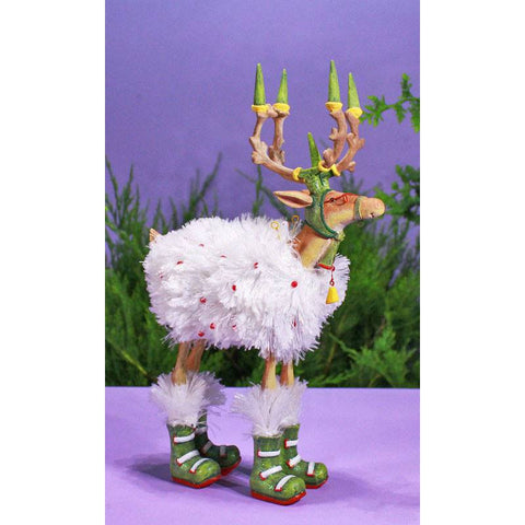 Dash Away Blitzen Figurine 29cm