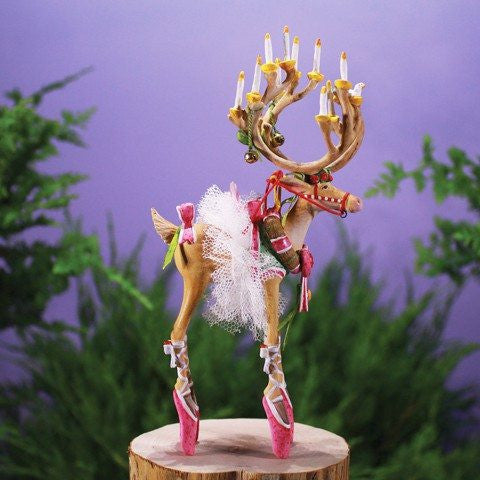 Dash Away Dancer Ornament 19cm