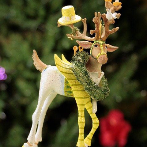 Dash Away Prancer Ornament 19cm