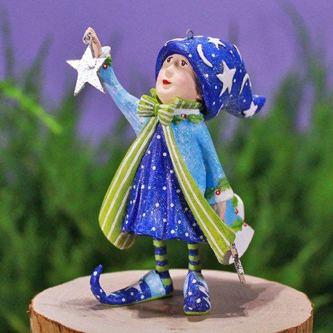 Comet's Star Elf Ornament 12cm