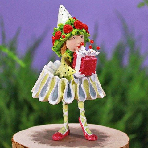Dancer's Gift Elf Ornament 12cm