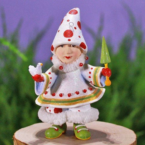 Blitzen's Tree Elf Ornament 12cm