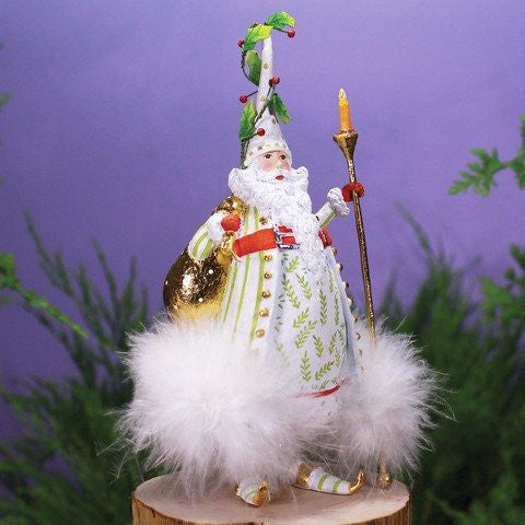 CandleLight Santa Ornament 18cm
