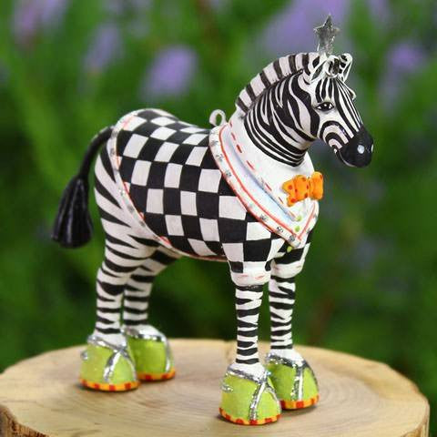 Mini - Zeke Zebra
