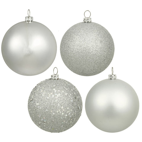 Silver 2.5cm Bauble Pack