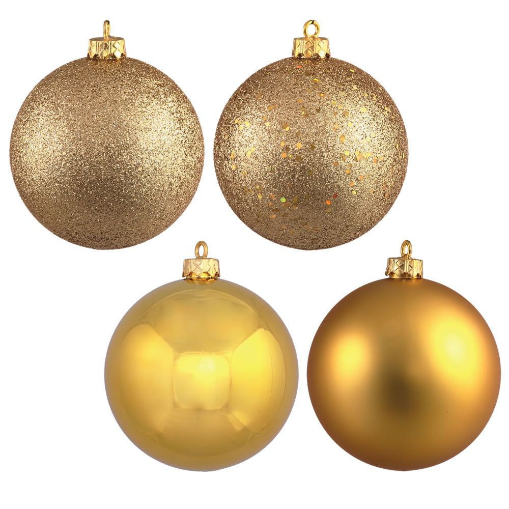 Gold 2.5cm Bauble Pack