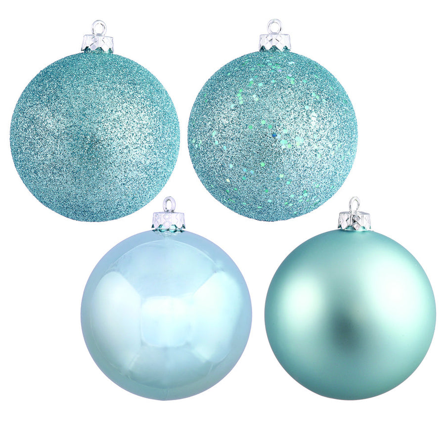 baby blue baubles various sizes - Tiffany Blue Christmas Ornaments