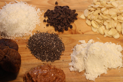 Red Quinoa Power Balls Ingredients