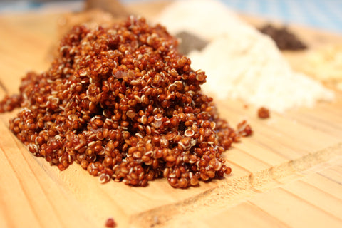 Red Quinoa Power Balls
